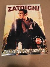 Zatoichi the blind swordsman Series Box 1 - 4 - Region 1 DVD japanese / engl. su
