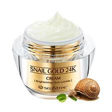 [SEANTREE] Snail Gold 24K Cream 50g / Elastic skin