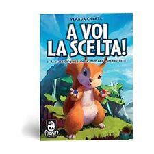 A VOI LA SCELTA - GIOCO DA TAVOLO ITALIANO CRANIO CREATION 8034055580868