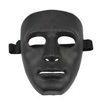 ABS Halloween Maschera Nero Q7L7 V6E2