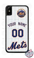 NEW YORK METS BASEBALL PERSONALIZED PHONE CASE COVER FITS IPHONE SAMSUNG LG etc