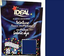TEINTURE IDEAL TEXTILE TISSU VETEMENT BLEU MARINE coton lin laine polyamide