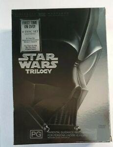 Star Wars Original Trilogy Box Set DVD , Star Wars, Empire Stikes Back,  Return