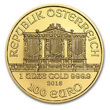 2015 Austria 1 oz Gold Philharmonic Brilliant Uncirculated - SKU #84902