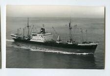 MS Straat Le Maire Photo Postcard - KJCPL Royal Interocean Lines 1862