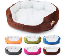 New Colorful Washable Pet Beds for Small Medium Sized Dogs Cats