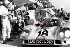 Pedro Rodriguez & Jackie Oliver Gulf Porsche 917 LH Le Mans 1971 Photograph 1