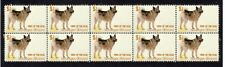 Norwegian Elkhound Year Of The Dog Strip Of 10 Mint Stamps 4