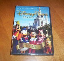 DISNEY PARKS THE SECRETS STORY MAGIC BEHIND THE SCENES Disneyland World DVD NEW