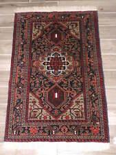 3x5ft. Handmade Herat Turkoman Wool Rug
