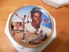 "Breaking Barriers ""The Legendary Jackie Robinson"" Collector'S Plate"
