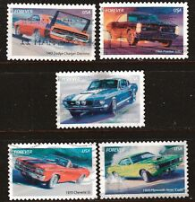 Scott #4743-47 Used Set of 5, Muscle Cars