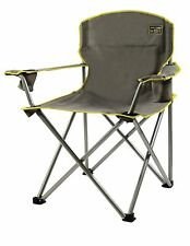 Folding Camp Chair Outdoor Portable Seat Heavy Duty 500LBS Oversized Camping Cup