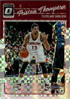 2016-17 Donruss Optic Checkerboard #19 Tristan Thompson - NM-MT