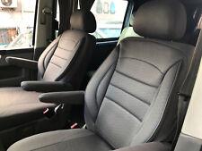 Coprisedili per VW T5 T6 CARAVELLE//TRANSPORTER conducente e passeggero 128