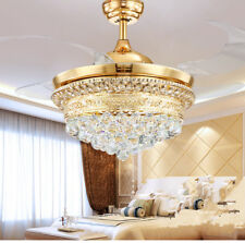 """52"""" LED Remote Control ABS Ceiling Fan Lamp Chandelier Lighting Light Fixture"""