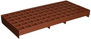 Grodan GL56707445 GRO-Smart Tray, 78-Cell, Terracotta