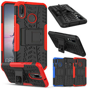 Heavy Duty Armour Shockproof Kickstand Phone Case Cover For Huawei P20 Lite/Pro