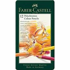 Faber-Castell Polychromos Artists' Color Pencils 12-Pack *BNIP*
