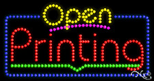 "New ""Open Printing"" 32x17 Solid/Animated Led Sign W/Custom Options 25560"