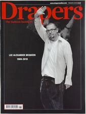 Alexander McQueen interview tribute magazine 1994 Collection Menswear DRAPER'S