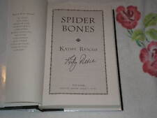 Spider Bones by Kathy Reichs       **SIGNED**