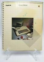 Apple IIe Original Owners Manual / Guide 1983