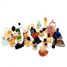 Parfum Sammlung 32 Stück Glas Miniaturen Flakons Konvolut Sortiment edler Marken
