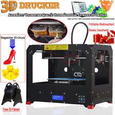 2018 DHL CTC FDM 3D Drucker Bizer Dual Extruder MK8 MakerBot Replicator PLA /ABS