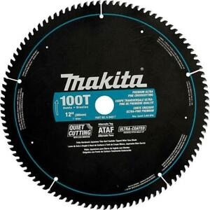 Makita A-94817 12-Inch 100 Tooth Ultra Coated Quiet Cutting Mitersaw Blade