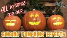 More details for halloween singing pumpkins