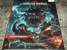 D & D Monster Manual Dungeons and Dragons Book 5th Edition 5E 5.0