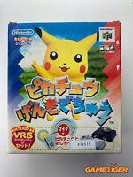 PIKACHU GENKI DE CHU POKEMON + VRS PACKAGE Nintendo N64 JAPAN Ref:314515