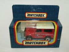 Matchbox Superfast MB-16 Land Rover Ninety Red MIB