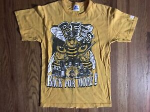 Vintage Pittsburgh Pirates T Shirt Starter The Bees 1991 Barry Bonds Mens Small