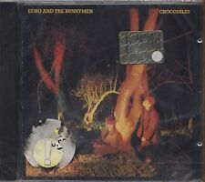 ECHO AND THE BUNNYMEN - Crocodiles - CD 1980 10 TRACKS SIGILLATO SEALED