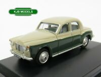 BNIB OO GAUGE OXFORD 1:76 76P4004 Rover P4 Stone Grey / Juniper Green Car