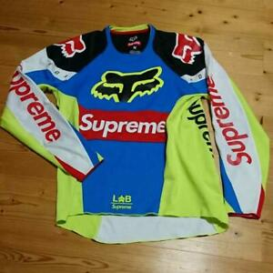 Supreme Moto Jersey Top Fox Racing Multicolor Size M 2018 SS