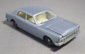 Professional Restoration: Matchbox No53 Ford Zodiac MkIV Metallic Blue.