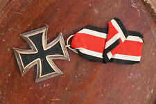 German Third Reich 1939 WWII Iron Cross Ring Original