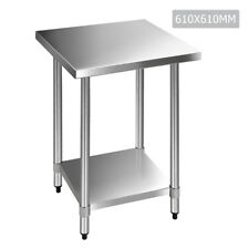 915mm X 610mm Stainless Steel Kitchen Work Bench Prep Table
