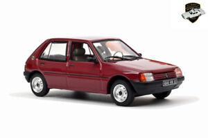 PEUGEOT 205 GL 1988 - Voiture rouge foncé dark red Car - 1/43 NOREV 471719