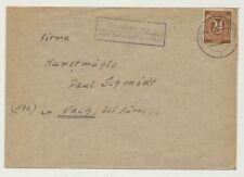 All. Besetzung Landpoststempel GNADENBERG über NEUMARKT (OBERPF) (45468)