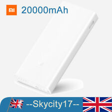 New Xiaomi Mi 20000mAh Power Bank 2C Quick Charge 3.0 External Battery Dual USB