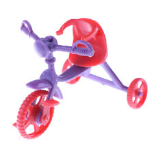 2pcs Doll Tricycle Children Barbie Doll Accessories Kid girl Doll Toy  O