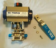 BI-TORG IS-3W Multi-Port Stainless Steel National Pipe Thread Ball Valve