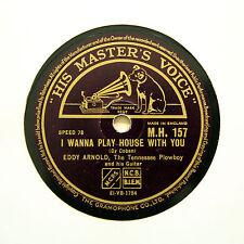 "EDDY ARNOLD ""Something Old, Something New"" (E+) HMV MH-157 [78 RPM]"