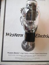 Western Electric 300B  NOS  1940'S  production