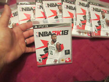 "NBA 2K18 PS3 2018 STANDARD OR EARLY TIP-OFF "" RANDOM "" KYRIE IRVING BASKETBALL"
