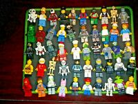 Lego Mini Figures (Pack of 2) you pick type + 4 accessories what you see you get